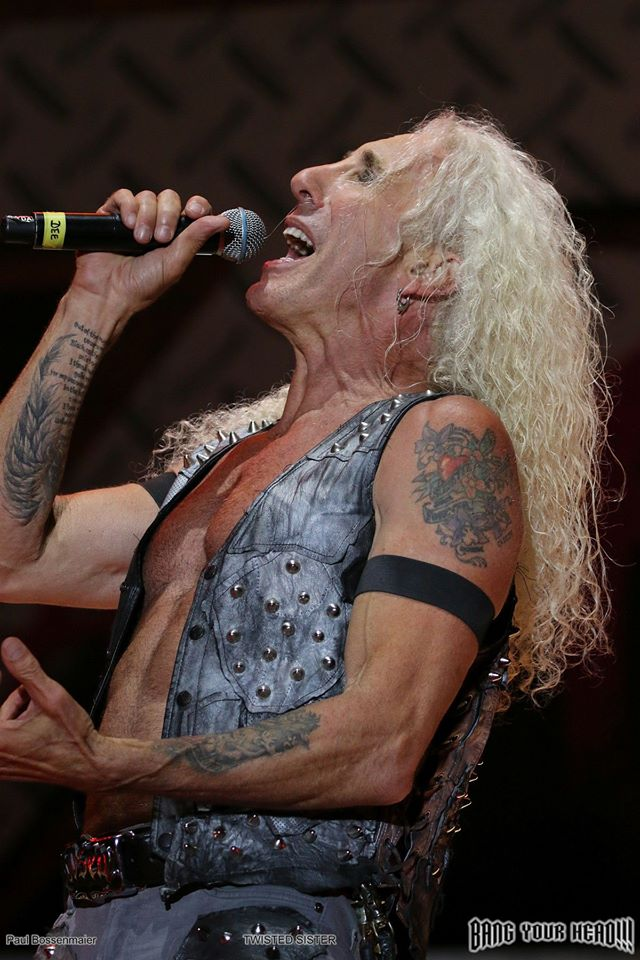 Dee Snider de Twisted Sister